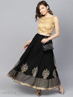 Skirts Stylish printed Women's Skirts Fabric: Net Pattern: Embellished Multipack: 1 Sizes:  Free Size (Waist Size: 28 in, Length Size: 40 in) Country of Origin: India Sizes Available: Free Size, 32, 34, 36, 38, 40, 42, 44   Catalog Rating: ★4 (3230)  Catalog Name: Women Western Skirts CatalogID_1023967 C79-SC1040 Code: 562-6435612-885