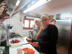 Cooking class in Umbria, Italy during Lenora's Italy Retreat For Women to live La Dolce vita.  http://www.LenoraBoyle.com