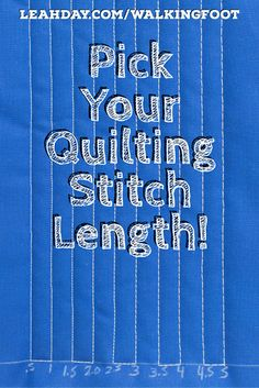 Learn the basics of walking foot quilting and how to quilt straight lines in a n. - Learn the basics of walking foot quilting and how to quilt straight lines in a new quilting tutoria - Machine Quilting Patterns, Quilting Thread, Quilting Rulers, Quilting Tips, Quilting Tutorials, Quilting Projects, Quilt Patterns, Longarm Quilting, Sewing Projects