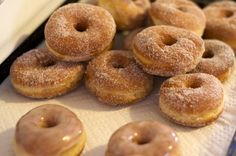 A great doughnut (or donut) recipe that I look forward to making tonight! :)