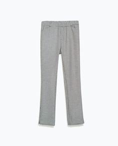 ZARA - TRF - Pantalon cigarette