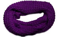 Loose Knit Crochet Loop Eternity Warm Winter Style Fashion Infinity Scarf (PLUM) Hot from Hollywood,http://www.amazon.com/dp/B00ATGYAWO/ref=cm_sw_r_pi_dp_cSAasb0BQTWFJR8X