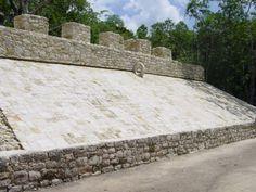 ball court at Coba, Mexico