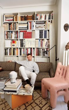 The furniture dealer and interior designer Michael Bargo lives in a one-bedroom — and nearly everything is for sale.