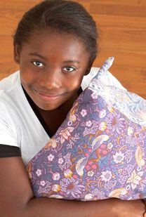 The Million Pillowcase Project; my only New Year's resolution is sew one pillowcase a month. They go to children's hospitals, foster children, nursing homes, and other organizations where they will be distributed to those who need to feel that someone cares about them.