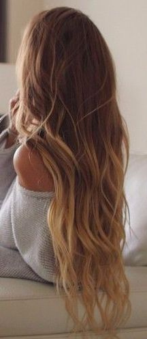 I dream of the day my hair is this long!