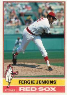Fergie Jenkins Boston Red Sox