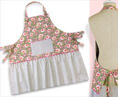 Re-imagine & Renovate: Mom's Favorite Apron with Fat Quarter Shop   Sew4Home