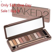 One Day Sale for Urban Decay Eyeshadows .... Naked 2 for Only $16