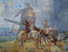 Native American photo art