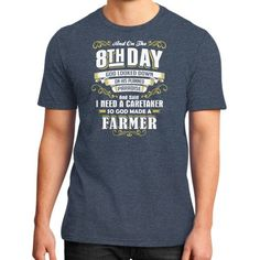 Farmer 8TH DAY District T-Shirt (on man)