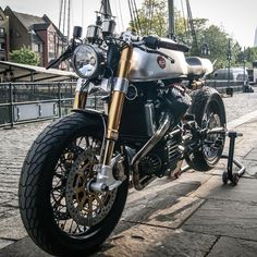 ram by CAFE RACER #caferacergram #   One of @sachalakic's limited run Blacktrack Motors BT-01R CX500 ca
