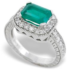 Emerald...my hub's birthstone so I'll tell him it's like he'll always be with me double the time (cuz of the lefthand ring already)...maybe then he'll get it for me?! ;)