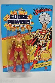 "DC UNIVERSE CLASSICS SUPER POWERS 6"" GOLD SUPERMAN 30TH ANNIVERSARY EDITION NEW"