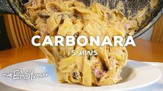 Smokey, bacony Carbonara in 15 minutes!