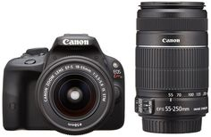 Canon DSLR Camera EOS Kiss X7 with EF-S18-55mm and