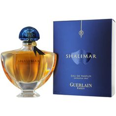 SHALIMAR Perfume by Guerlain  I don't own this, but it was my Momma's special-occasion favourite