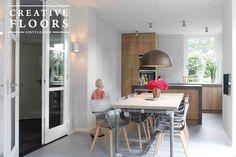 Rustieke Woonkeuken Gietvloer : Beste afbeeldingen van gietvloer keuken resin floor kitchen