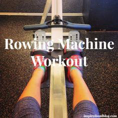 The rowing machine is one of the best total-body workouts! Checkout this rowing Machine #Workout!