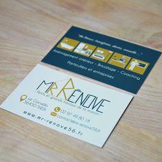 Carte de visite pour Mr-Rénove! #logo @joliepub