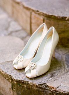 Classic wedding shoes
