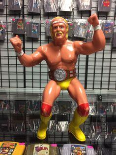 WWF Wrestling Superstars hillbilly Jim 2-Pack Hulk Hogan Ljn 1984