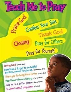 Teaching children to pray | Bible study and devotions for kids