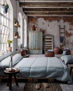 Via – Rustic Bedroom is designed by Jose Olmedo. Via – Rustic Bedroom is designed.