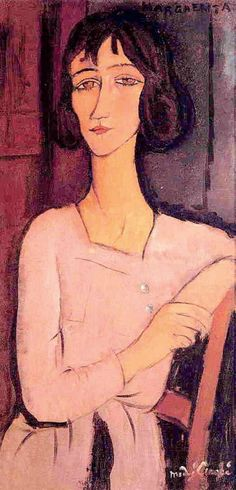 Amedeo Modigliani, Marguerite, 1916.                                                                                                                                                     Más