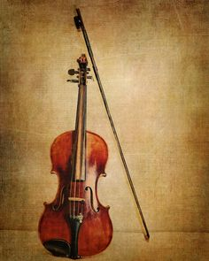 Violin Fine Art Photography Musical Instrument by KEnzPhotography