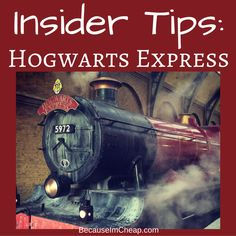Insider Tips for riding the Hogwarts Express at Universal Studios #HarryPotter | BecauseImCheap