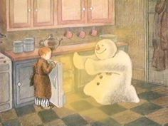 The Snowman - Raymond Briggs Christmas Mood, Father Christmas, Kids Christmas, Holiday Movie, Christmas Movies, Snowman And The Snowdog, Raymond Briggs, Snowman Quilt, Build A Snowman
