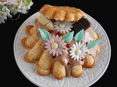 Coisas simples são a receita ...: Bolo de baunilha com ganache de chocolate