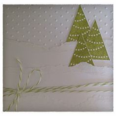 Christmas cards, Stampin Up, Pennant Parade