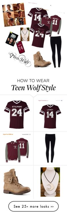 """Teen Wolf,I love this serial..."" by baru-koblischke on Polyvore"