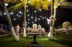 Um casamento lindo, de frente para o mar de Porto de Galinhas! Foi assim o Destination Wedding da Leila com o Bira! #casamento #destinationwedding #casamentonapraia #cerimonia #wedding #noivinhasdeluxo