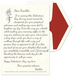 Tips for writing a Love Letter from the Heart