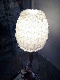 DIY Origami Lamp Shade