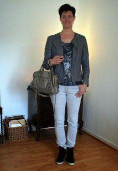Leather five ways // Jacket