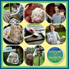 Finished Bird Food: Making bird food http://www.coombemill.com/blog/post/2013/01/19/Country-Kids-from-Coombe-Mill.aspx