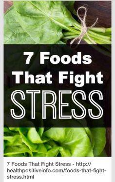 7 Foods That Fight Stress #Health #Fitness #Trusper #Tip