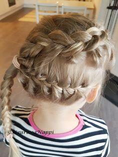 Braid, lettikampaus, Dutch braid, fisbone braid