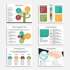Plantillas para Presentaciones Power Point Powerpoint Design Templates, Ppt Design, Ppt Template, Graphic Design, Power Point Presentation Tips, Google Powerpoint, Mind Map Design, Journal Template, Bullet Journal