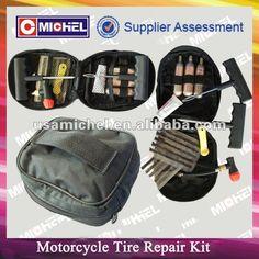 Emergency Motorcycle Tyre Repait Kit, CO2 Cartridges, Tubeless Tire Repair Kit $0.99~$1.63