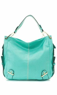Mint Handbag ♡ I need this in my life.