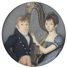 Miniature Paintings, Miniature Portraits, Most Beautiful Words, Sound Of Music, Pretty Pictures, 19th Century, Whimsical, Childhood, England
