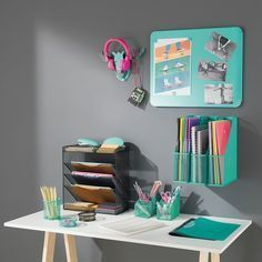31 Best Craft Room Storage and Organization Furniture Ideas Home Office Design, Home Office Decor, Home Decor, Office Ideas, Office Furniture, Furniture Ideas, Furniture Layout, Wand Organizer, Organiser