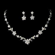 Swarovski Crystal & Freshwater Pearl Jewelry Set