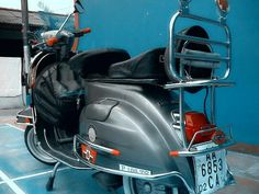 Terjual Vespa PTS 100cc Full Aksesoris Mulus warna Steel Grey | KASKUS Vespa Moped, Steel, Grey, Gray, Repose Gray, Iron