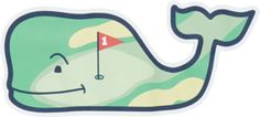Vineyard Vines Hole In One Whale